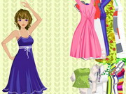Full Of Color Dressup Game