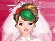 Emo Bride Dress Up Game