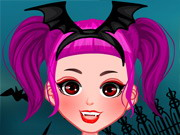 Halloween Girl Dressup Game