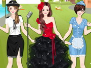 Career Dress Up Game