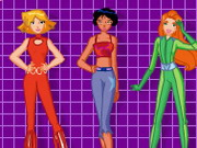 Totally Spies Dress Up Game