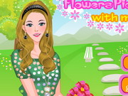 Flowers Picking With My Baby Game