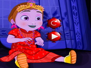 dress-up, baby , cartoon , christmas , frozen , girl , kid , makeover,makeup , baby , anna , dressup