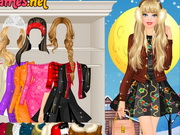 Barbie Winter Fashionista Game