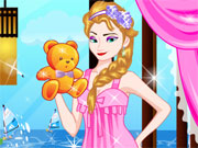 Elsa Sleepover Dressup Game