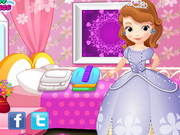 Little Princess Sofia Washing Clothes Game