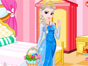 Elsa Easter Dressup Game
