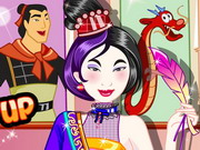Emo Mulan Dress Up Game