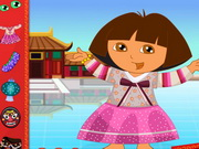 Dora In China Dressup Game
