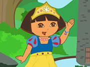 Princess Dora Dress Up Game