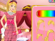 Barbie Floral Dress Design Game