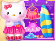 Hello Kitty Summer Break Game