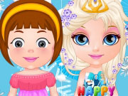 Baby Barbie Frozen Party Game