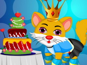 Cat Princess Birthday Makeover Game