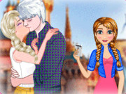 Frozen Perfect Kiss Game