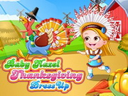 Baby Hazel Thanksgiving Dressup Game