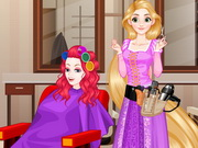 Rapunzel Hair Stylist Game