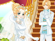 Cinderella Manga Wedding Game