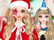 Elsa New Year Costumes Game