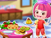 dress-up, baby , baby hazel , cooking , decoration , girl , kid , baby , hazel , chef , dressup