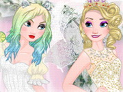 Elsa Good Vs Naughty Bride Game