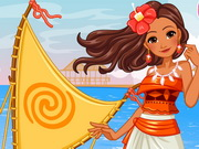 Princess Moana's Ship Game