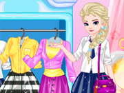 Elsa College Dress Up