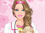 Barbie Pet Doctor Game