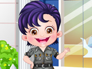 Baby Hazel Security Officer Game