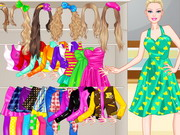 Barbie High School Dressup