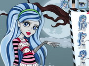 Monster High Ghoulia Yelps Hairstyle Game