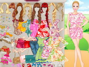 dress-up, barbie , floral