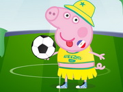 Peppa Pig World Cup Dress Up Game