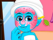 Smurfette School Style Makeover Game