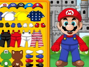 Brave Mario Dress Up Game