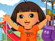 Dora Out To Park Dressup Game
