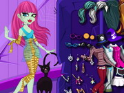 dress-up, cartoon , monster , monster high , party , with , frankie