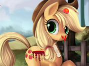 dress-up, animal , boy , girl , kid , pony , injury , care