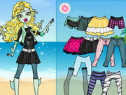 dress-up, monster , monster high , platform , lagoona , blue , dress up
