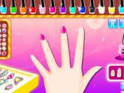 Colorful Manicure Show Game