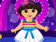 Dora Valentine Party Dress Up Game