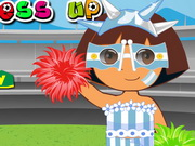 Dora World Cup Dressup Games Game
