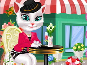 Talking Angela Dressup Game