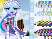 Monster High Chibi Abbey Dress Up Game