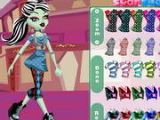 Monster High Frankie Stein Style Game