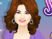 dress-up, makeover,makeup , selena , gomez , celeb , makeover
