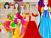 Barbie Masquerade Princess Dressup Game