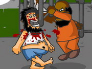 Hobo Prison Brawl Game