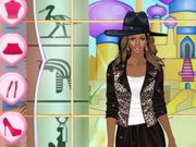 Helen Singer Style Dress Up Game