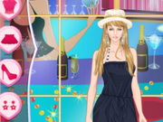 Helen Casual Jumpsuits Dress Up Game